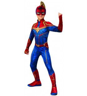 Captain Marvel Hero Suit Classic Jongen Kostuum