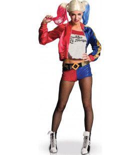 De Altijd Charmante Harley Quinn Vrouw Kostuum