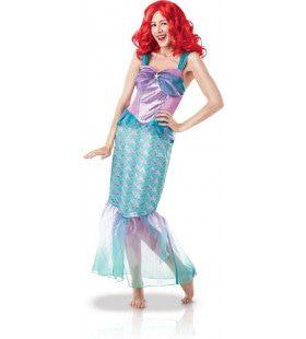 Ariel Zeemeermin Prinses Van De Diepe Zee Vrouw Kostuum