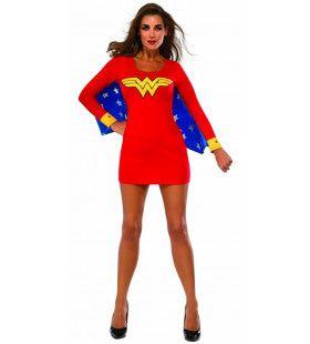 Sexy Wonderbaarlijke Wonder Woman Vrouw Kostuum