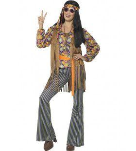 Lotus Hippie Vrouw Kostuum