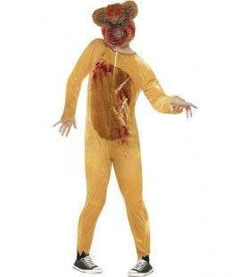 Zombie Teddy Beer Man Kostuum