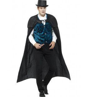 Victoriaans Jack The Ripper Man Kostuum