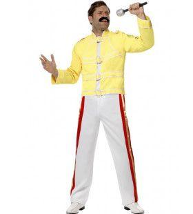 Queen Freddie Popster Man Kostuum