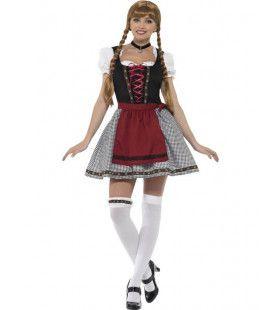 Fraulein Frohlich Dirndl Vrouw Kostuum