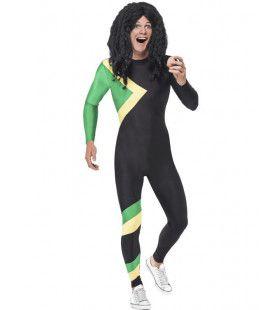 Wintersport Jamaica Bobslee Team Man Kostuum