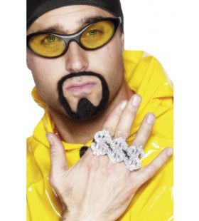 3 In 1 Dollar Rapper Ring