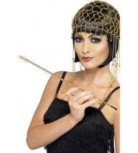 Uitschuifbare Gouden Sigarettenhouder Diva