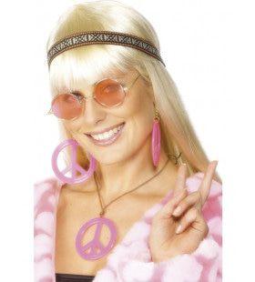 Hippie Kit Roze Altijd Vrede