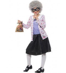 David Walliams Oma Boef Gangsta Granny Meisje Kostuum