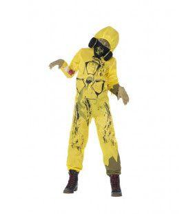 Tony Toxic Chemisch Kern Afval Kind Kostuum