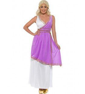 Griekse Godin Thalassa Vrouw Kostuum