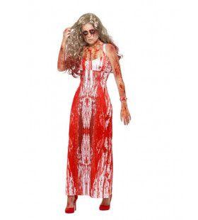 Bloedmooie Miss Horror Queen Vrouw Kostuum