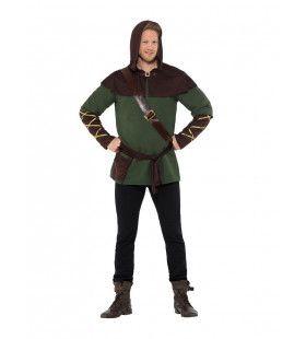 Nachtmerrie Van De Sheriff Robin Hood Man Kostuum