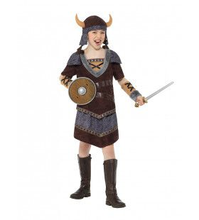Walhalla Viking Sigrid Meisje Kostuum