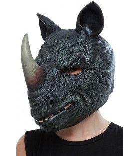 Masker Briesende Zwarte Neushoorn Afrika