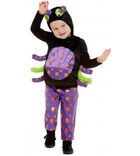 Gevaarlijke Giftige Spin Kind Kostuum