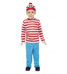 Waar Is Wally Nu Gebleven Kind Kind Kostuum