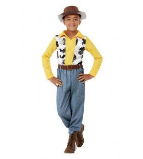 Sheriff Trots Tot Uw Dienst Jongen Kostuum
