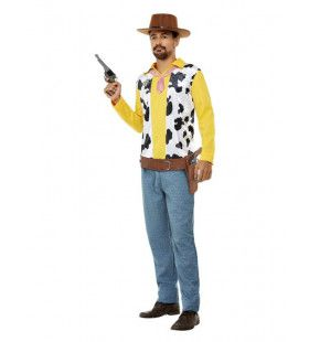 Tekenfilmachtige Cowboy Man Kostuum