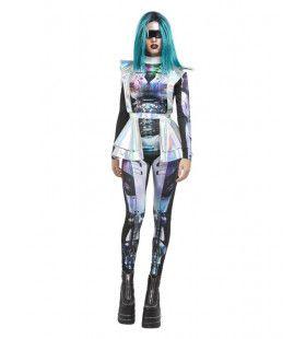 Mars Astronaut Vrouw Kostuum