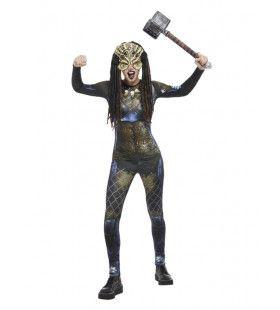 Mythische Amazone Uit De Ruimte Vrouw Kostuum