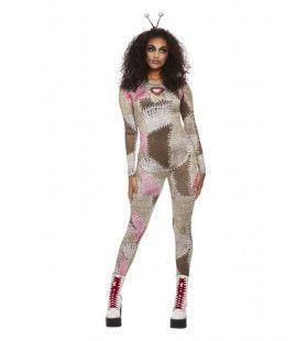 Voodoo Pop Vrouw Kostuum