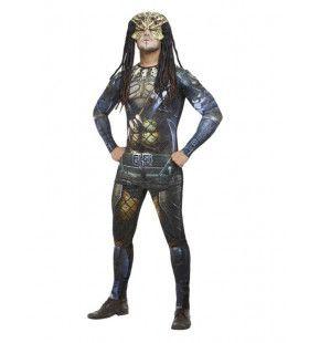 Mythische Strijder Uit De Ruimte Man Kostuum