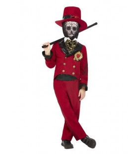 Senorito De Los Muertos Jongen Kostuum