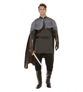 Middeleeuwse Ridder Edelman Kostuum