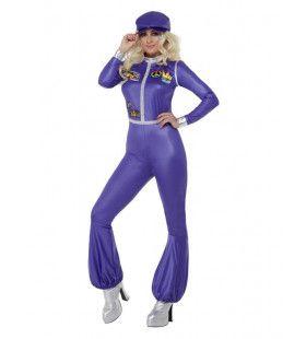 70s Dancing Queen Popster Vrouw Kostuum