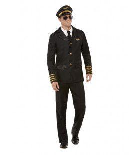 Pieter De Piloot Man Kostuum