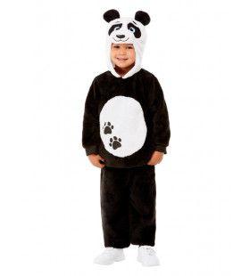 Zwart Witte Bamboe Panda Kind Kind Kostuum