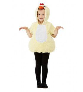 Tok Tok Kip Op Een Kippenstok Kind Kind Kostuum