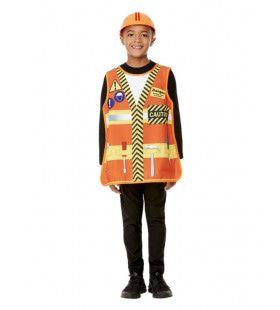 Bouwvakker Verkleedkit Kind Kostuum
