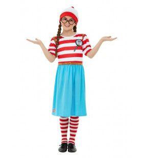 Wie Weet Waar Wenda Is Meisje Kostuum