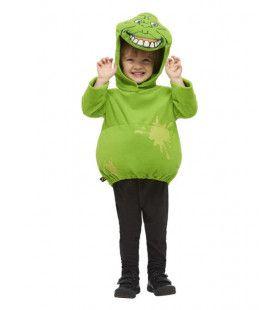 Slimey Slimer Monster Ghostbuster Kind Kostuum