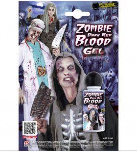 Halloween Zombie Bloedgel, Rood 28ml