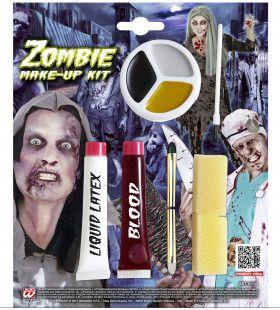 Doe Het Zelf Zombie Make-Up Kit