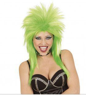 Glam-Punk Pruik, Rockster Groen