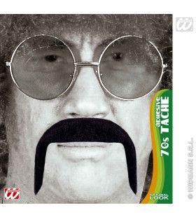 Snor 70s, Zwart