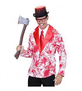 Grappige Bloederige Jas Volwassen Medium / Large Kostuum Man