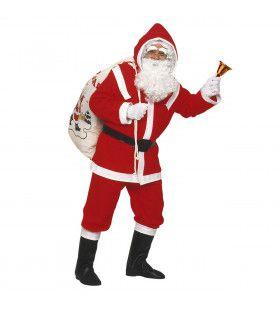 Kostuum Kerstman Flannel Santa Hohoho Kostuum