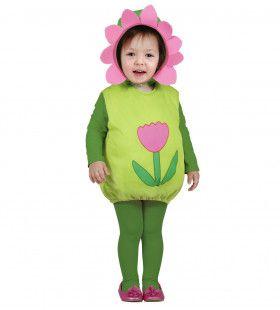 Flower Child Opgevulde Bloem Kind Kostuum Kind