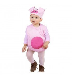 Opgevuld Varken Kind Baby Piggy Kostuum