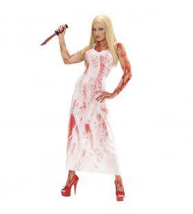 Bloody Mary Horror Dame Vrouw Kostuum