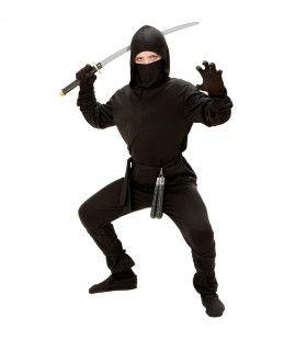 Samoerai Running Ninja Kostuum Jongen