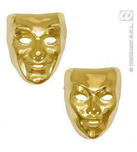 Plastic Masker Goud
