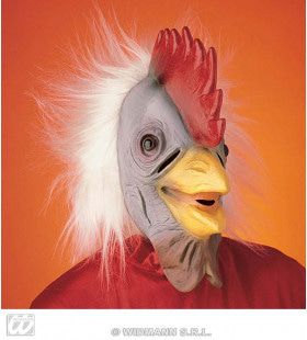 Masker Haan Met Pluche Haar