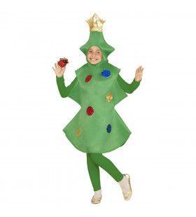 Grappige Kerstboom Kind Kostuum